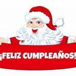 Feliz cumpleaños de Santa Claus