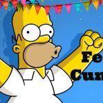 Feliz cumpleaños de Los Simpson