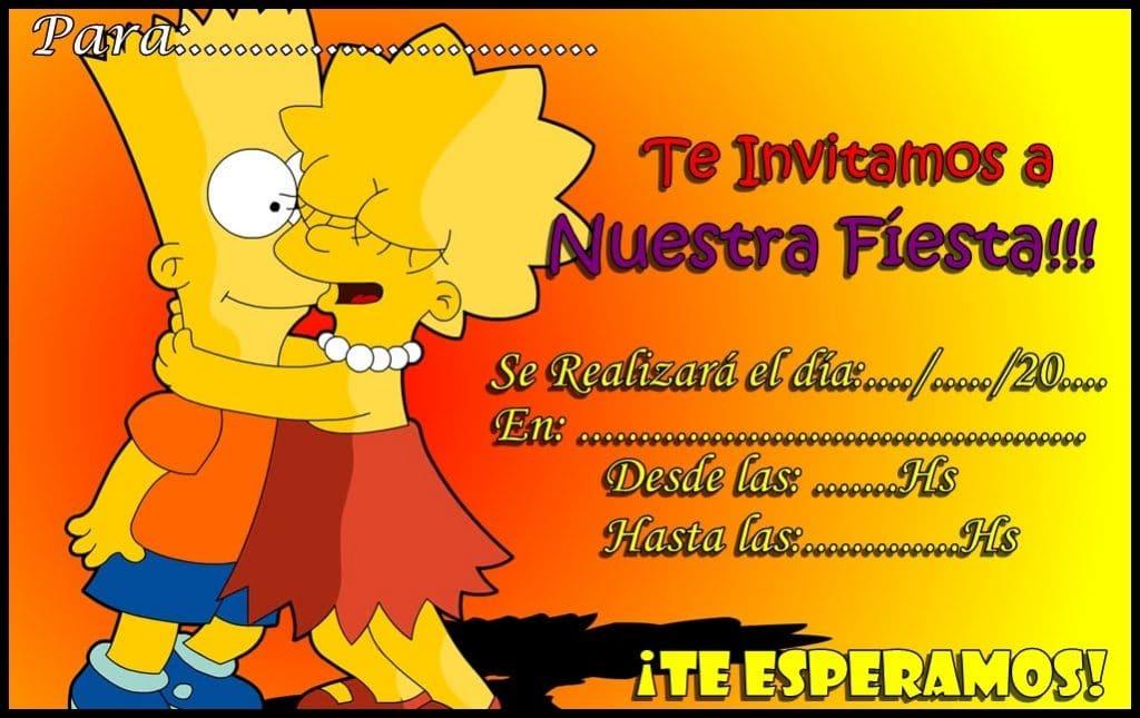 Imagenes De Cumpleaños De Los Simpson Imagenes Y Tarjetas