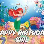 Feliz cumpleaños de La Sirenita