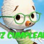 Feliz cumpleaños de Chicken Little
