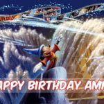 Feliz cumpleaños de Fantasía