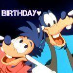 Feliz cumpleaños de Goofy