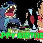 Feliz cumpleaños de Lilo y Stitch