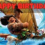 Feliz cumpleaños de Moana
