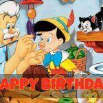 Feliz cumpleaños de Pinocho
