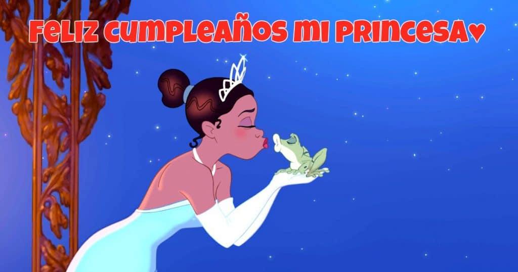 Feliz cumpleaños de La Princesa y el Sapo