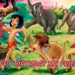 Feliz cumpleaños del Libro de la selva