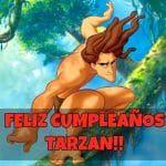 Feliz cumpleaños de Tarzan