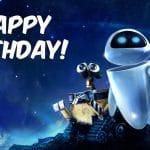 Feliz cumpleaños de Wall E