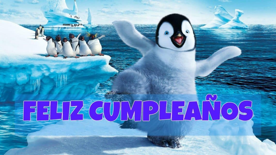 Feliz cumpleaños de Happy Feet