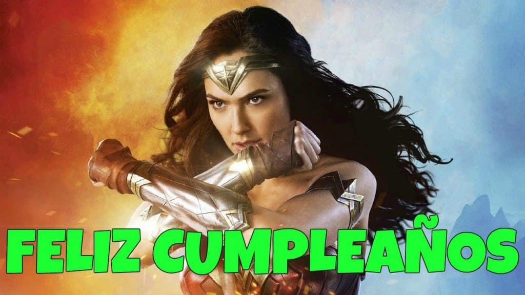 Imágenes De Cumpleaños De La Mujer Maravilla Imagenes Y