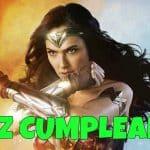 Feliz cumpleaños de La Mujer Maravilla