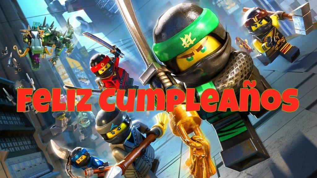 Imagenes De Cumpleanos De Lego Ninjago Imagenes Y Tarjetas De