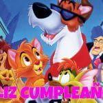 Feliz cumpleaños de Oliver y su pandilla