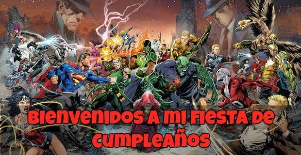 Feliz cumpleaños de La Liga de La Justicia Oscura