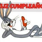 Feliz cumpleaños de Bugs Bunny
