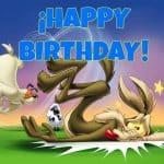 Feliz cumpleaños del Coyote