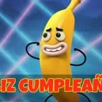 Feliz cumpleaños de Banana Joe