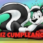 Feliz cumpleaños de Pepe Le Pew