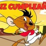 Feliz cumpleaños de Speedy Gonzales