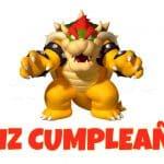 Feliz cumpleaños de Bowser