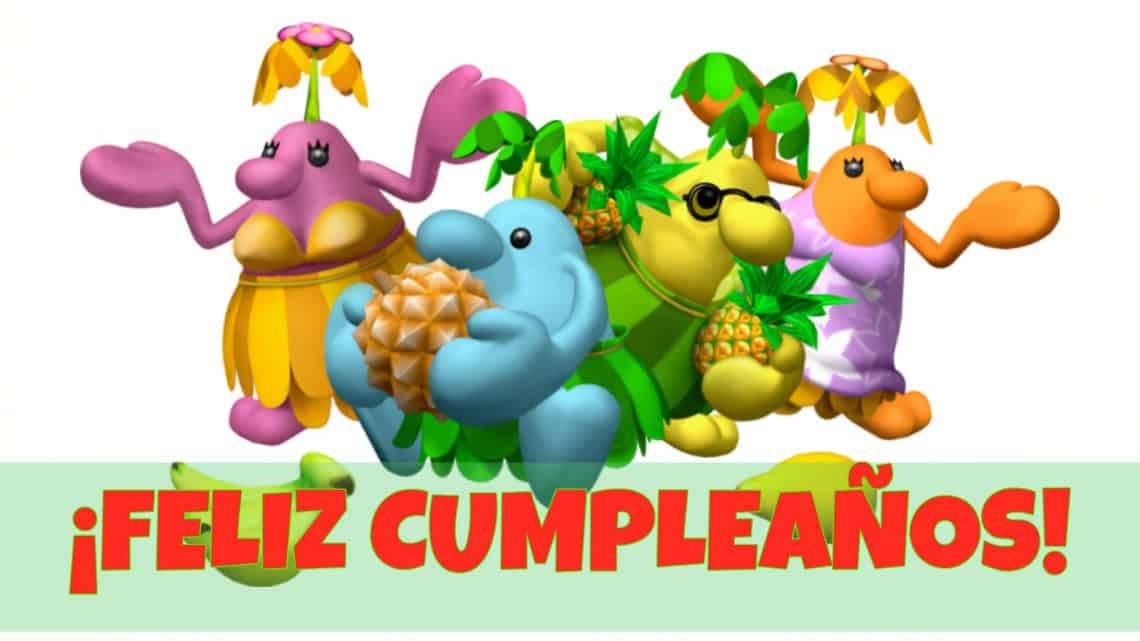 Feliz cumpleaños de Pianta