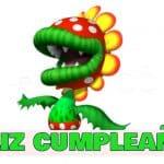 Feliz cumpleaños de Floro Piraña