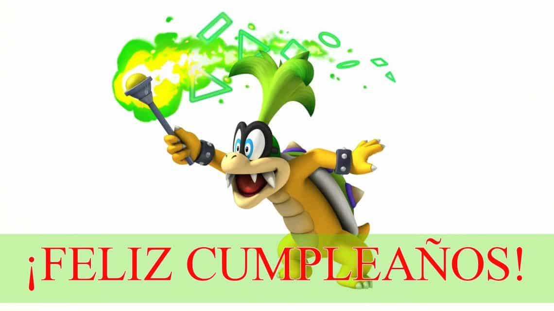 Feliz cumpleaños de Iggy Koopa