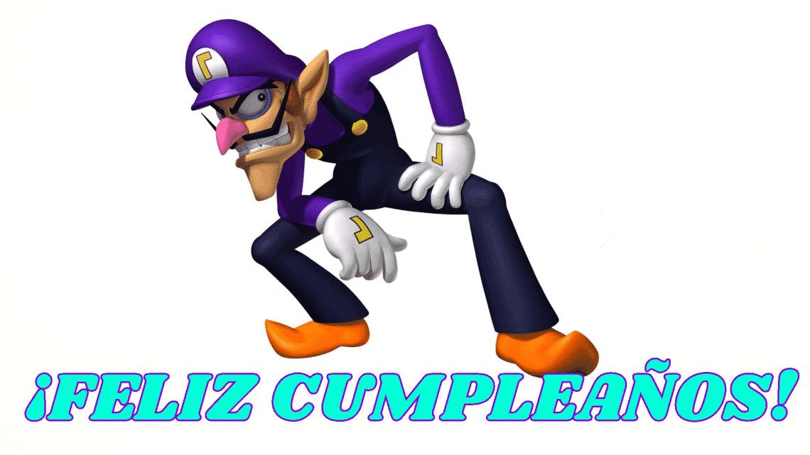 Feliz cumpleaños de Waluigi