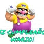 Feliz cumpleaños de Wario