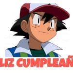 Feliz cumpleaños de Ash Ketchum