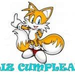 Feliz cumpleaños de Colas