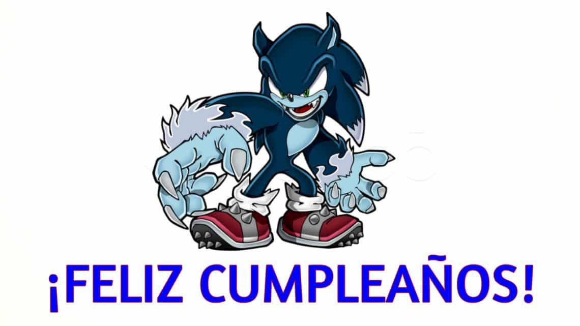 Feliz cumpleaños de Sonic Werehog