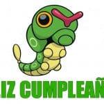 Feliz cumpleaños de Caterpie