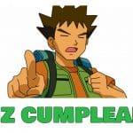Feliz cumpleaños de Brock