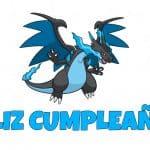 Feliz cumpleaños de Mega Charizard X