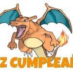 Feliz cumpleaños de Charizard
