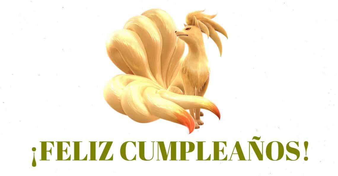 Feliz cumpleaños de Ninetales