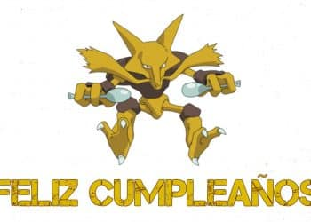 Feliz cumpleaños de Alakazam