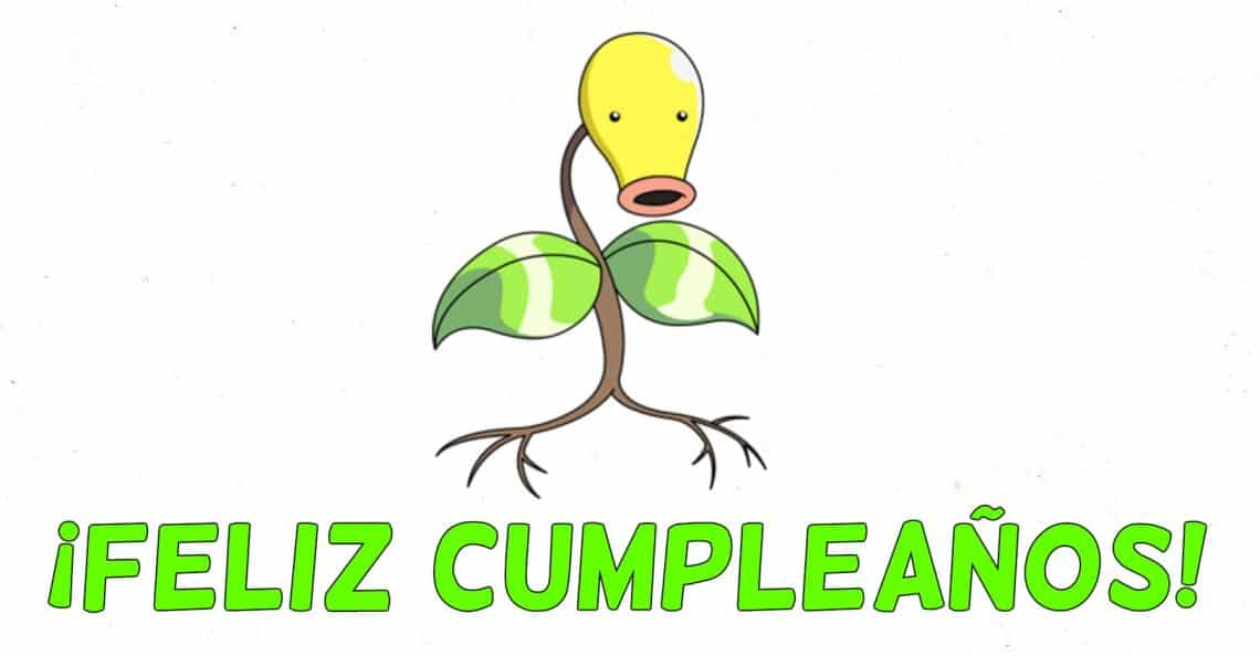 Feliz cumpleaños de Bellsprout