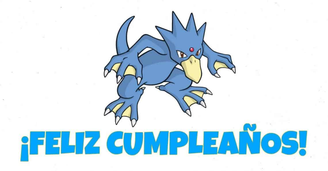 Feliz cumpleaños de Golduck