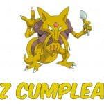 Feliz cumpleaños de Kadabra