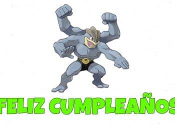 Feliz cumpleaños de Machamp