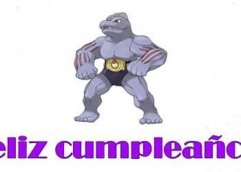 Feliz cumpleaños de Machoke