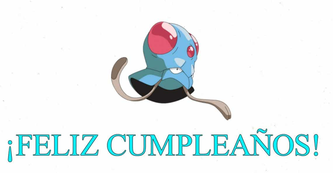 Feliz cumpleaños de Tentacool