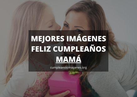 Felicitaciones de cumpleaños para madre